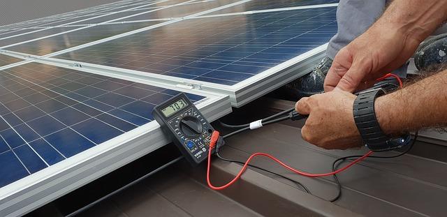 placement monitoring photovoltaïque